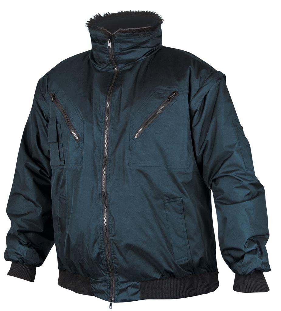 Zimní pracovní bunda Howard - Modrá | L