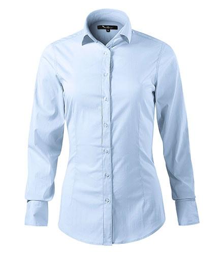 d896a11913bf Dámská košile s dlouhým rukávem Dynamic - Světle modrá