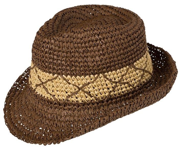 Letní klobouk v moderním provedení - DobrýTextil.cz d55b274ff5