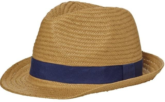 Letní klobouk MB6597 Letní klobouk MB6597 Karamel   tmavě modrá 2ab0396823