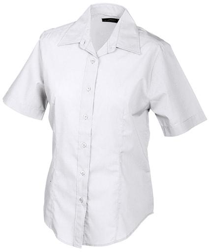 27a14ff57be9 ... košeľa s krátkym rukávom JN603 Biela Dámska ...