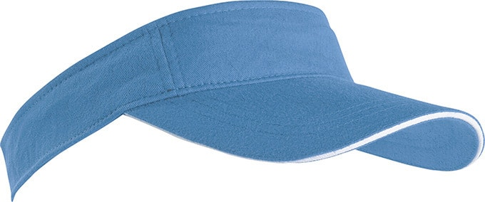 Kšilt Sunvisor MB6123 (Světle modrá   bílá  69f252d3a2