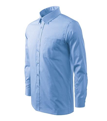 73130802b0c Pánská košile Long Sleeve Nebesky modrá