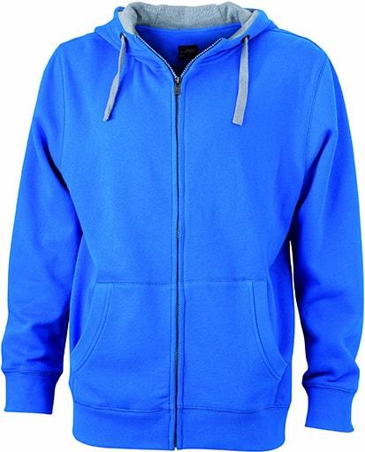Pánská mikina na zip s kapucí  619f9b9a5f