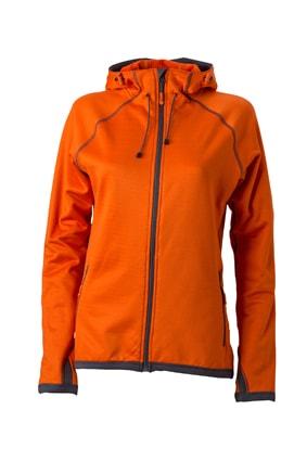 3ba28b72460 ... sportovní mikina na zip JN570 Tmavě oranžová   tmavě šedá
