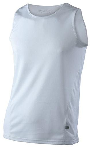 38da1d2605a ... sportovní tričko bez rukávů JN305 Bílá   bílá