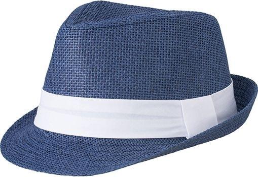 Letní klobouk MB6564 Letní klobouk MB6564 Tmavě modrá   bílá 3da2b202d1
