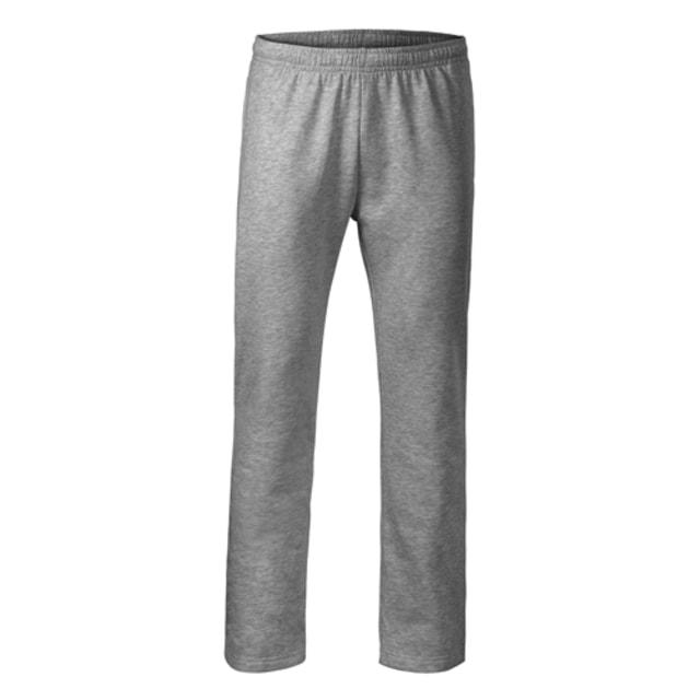 Pánské/dětské tepláky Comfort (Tmavě šedý melír | 146 (10 let))