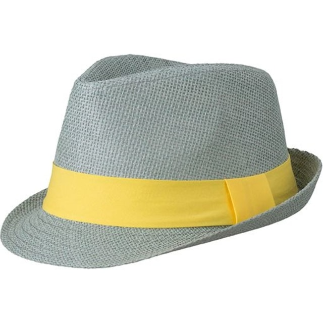 05ca2e3a5f1 Letní klobouk MB6564 (Světle šedá   žlutá