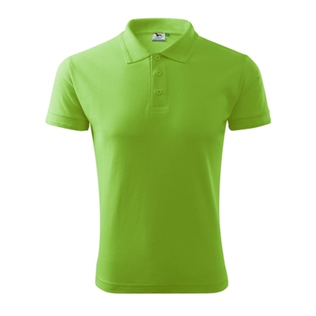 Pique pánská polokošile Adler (Apple green | S)