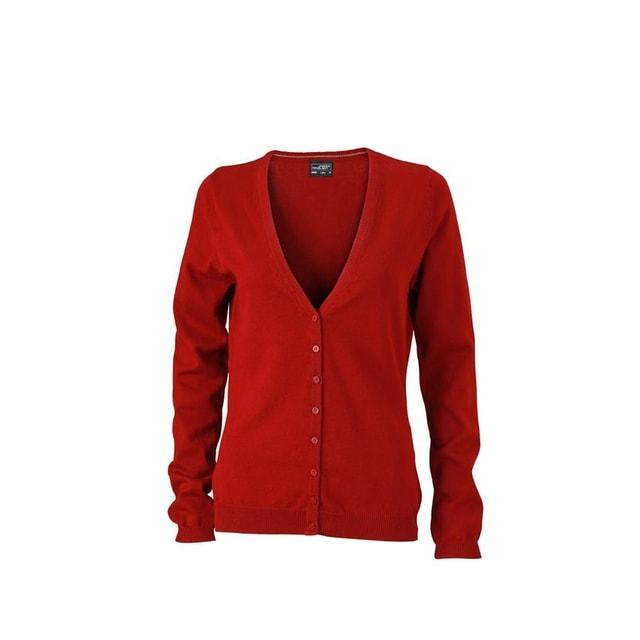 Dámský bavlněný svetr JN660 (Bordeaux | XS)