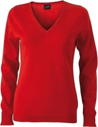 Dámský bavlněný svetr JN658 - Oranžová | M