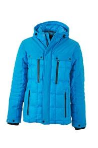 Sportovní pánská zimní bunda JN1102 - Modrá | M